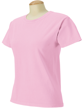 Comfort Colors Ladies 5.4 oz. Ringspun T-Shirt C3333 Blossom