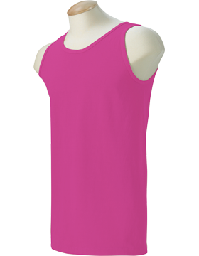 Comfort Colors 6.1 oz. Ringspun Tank C9360 Raspberry