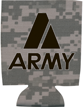 Collapsible Can Insulator, Army A, Digital Camo