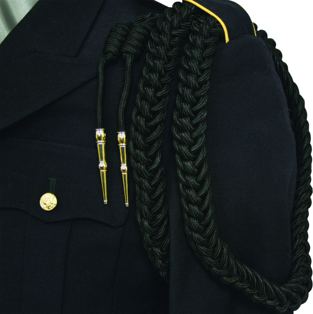 how to make military shoulder cords