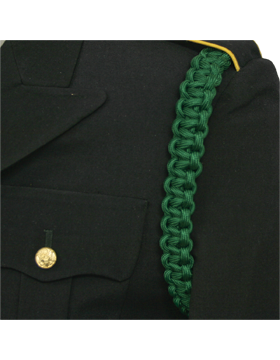 Shoulder Cord (CD-ZA105) Kelly Green 1 Strap with No Tip