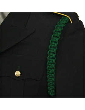 Shoulder Cord (CD-ZA112) Dark Green 1 Strap with No Tip