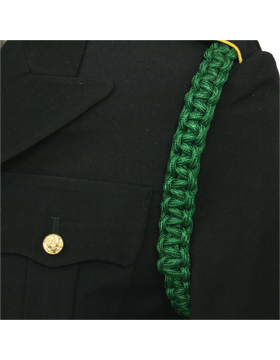 Shoulder Cord (CD-ZB105) Kelly Green 2 Straps with No Tip