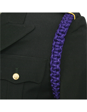 Shoulder Cord (CD-ZB110) Purple 2 Straps with No Tip