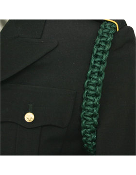 Shoulder Cord (CD-ZB112) Dark Green 2 Straps with No Tip