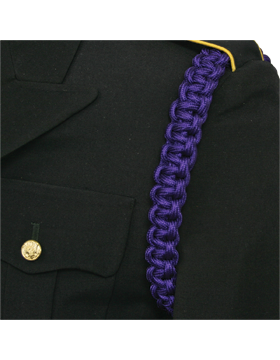 Shoulder Cord with Braid No Tip (One Color)