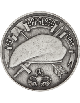3rd Special Forces Stock Coin Silver Ox small