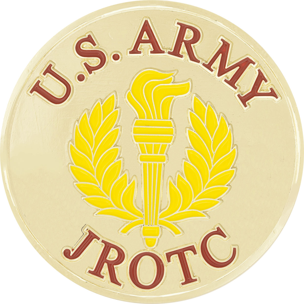 Challenge Coin Army JROTC Patch