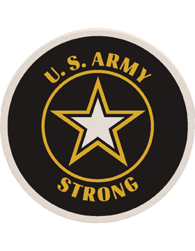 Coaster Black and Yellow, United States Army