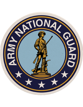 Coaster Black/Gold/Navy Blue Army National Guard