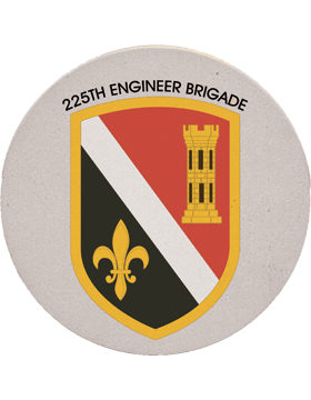 Coaster 225th Engineer Brigade