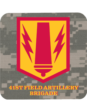 Coaster 41st Field Artillery Brigade on ACU