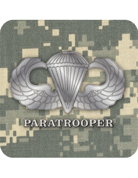 Coaster Paratrooper on ACU
