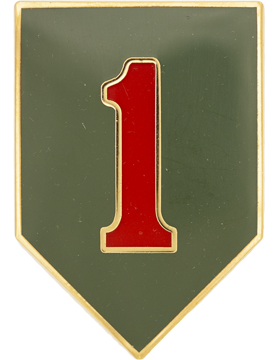 0001 Infantry Div Unit Identification Badge (D-P0001A)