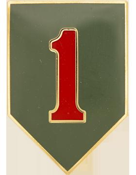 1st Infantry Division Combat Service Identification Badge