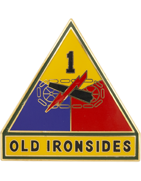 1st Armor Division Combat Service Identification Badge