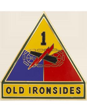 1st Armor Division Combat Service Identification Badge