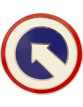 1st Sustainment Command Combat Service Identification Badge