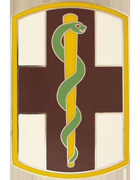 1st Medical Brigade Combat Service Identification Badge
