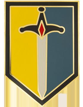 1st Maneuver Enhancement Brigade Combat Service Identification Badge