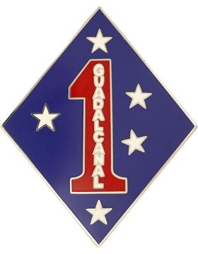 1 Marine Division Unit Identification Badge