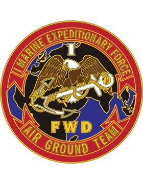 1st Marine Expedition Force (Forward) Combat Service Identification Badge
