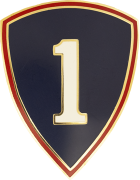 1st Personnel Command Combat Service Identifications Badge
