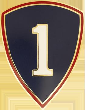 1st Personnel Command Combat Service Identifications Badge