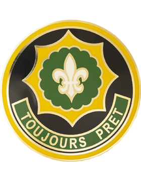 2nd Armored Cavalry Regiment Combat Service Identification Badge