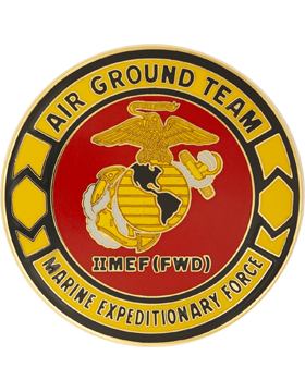 2nd Marine Expeditionary Force (Forward) Combat Service Identification Badge