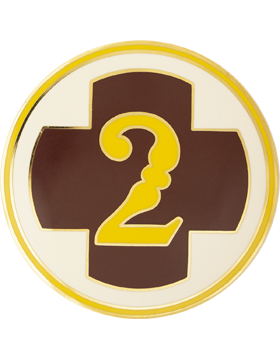 2 Medical Brigade Unit Identification Badge