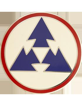 3rd Sustainment Command Combat Service Identification Badge