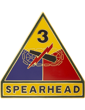 0003 Armored Div Unit Identification Badge (D-P0003G)