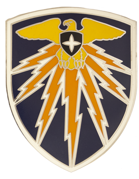 7th Signal Command Combat Service Identification Badge