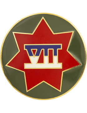 7th (VII) Corps Combat Service Identification Badge