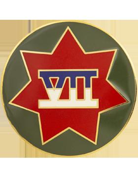 0007 Corps Unit Identification Badge (D-P0007C)