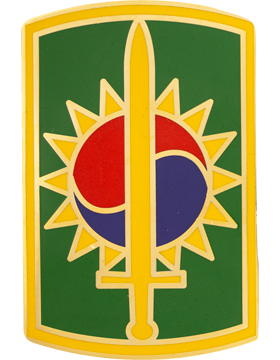 8th Military Police Brigade Combat Service Identification Badge