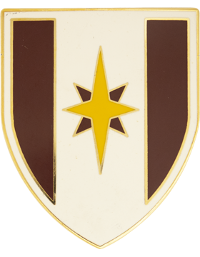 44th Medical Brigade Combat Service Identification Badge