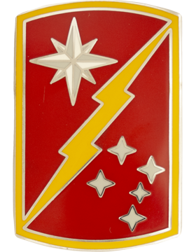 45th Sustainment Brigade Combat Service Identification Badge