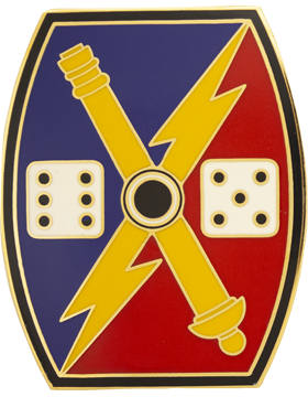 65th Fires Brigade Combat Service Identification Badge