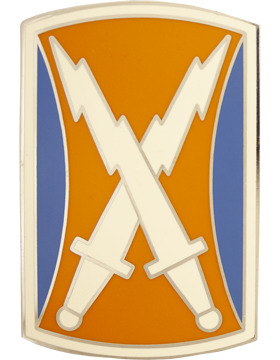 106th Signal Brigade Combat Service Identification Badge