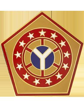 108th Sustainment Brigade Combat Service Identification Badge