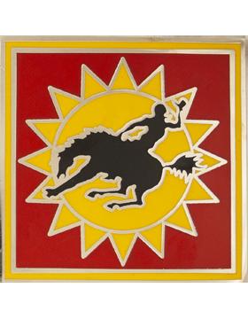 115th Field Artillery Brigade Combat Service Identification Badge