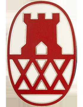 130th Maneuver Enhancement Brigade Combat Service Identification Badge