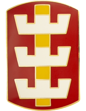 130th Engineer Brigade Combat Service Identification Badge