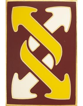 143rd Sustainment Brigade Combat Service Identification Badge