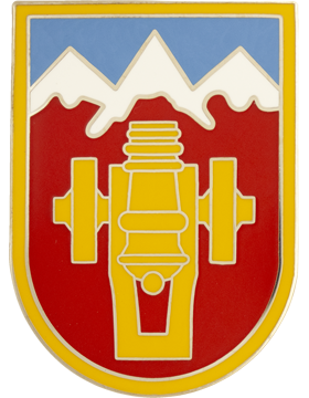 169th Fires Brigade Combat Service Identification Badge