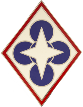 Combined Arms Support Command Combat Service Identification Badge