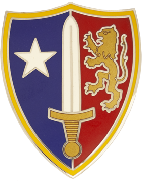 US Army NATO Combat Service Identification Badge
