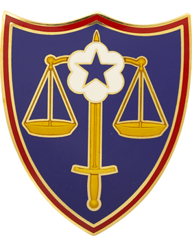 Trial Defense Service Unit Identification Badge (D-PTRDS)